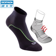 Decathlon sports socks professional running socks wear breathable support package socks (1 pairs) KALENJI