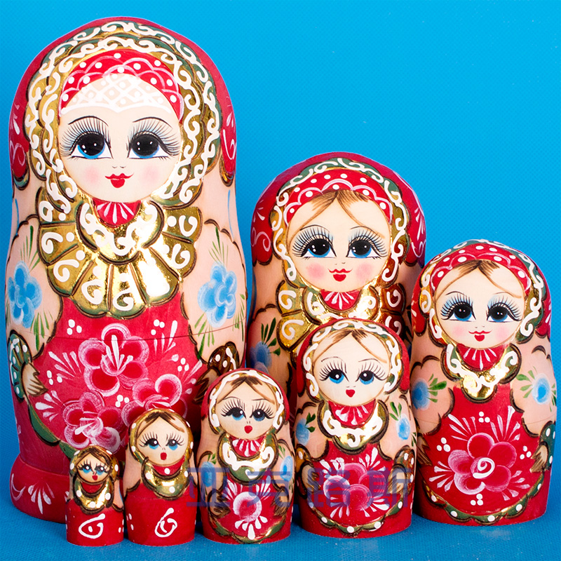 (YAKELUS) Akerlus authentic Alder original genuine gift Russian matryoshka 7722