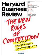 Year-round subscription to the original English magazine Harvard Business Review