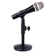wheat stent wired and wireless DS-12 handheld microphone computer microphone lifting metal base desktop stand