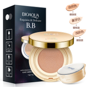 Bo Quan Ya cushion BB Cream Moisturizing Liquid Foundation Concealer strong and durable waterproof nude make-up brighten skin Korea CC