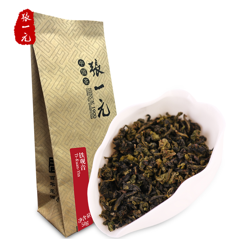 Zhang Yiyuan Tea Oolong Tea Tea Aromatic Tea Anxi Tieguanyin 15/50g