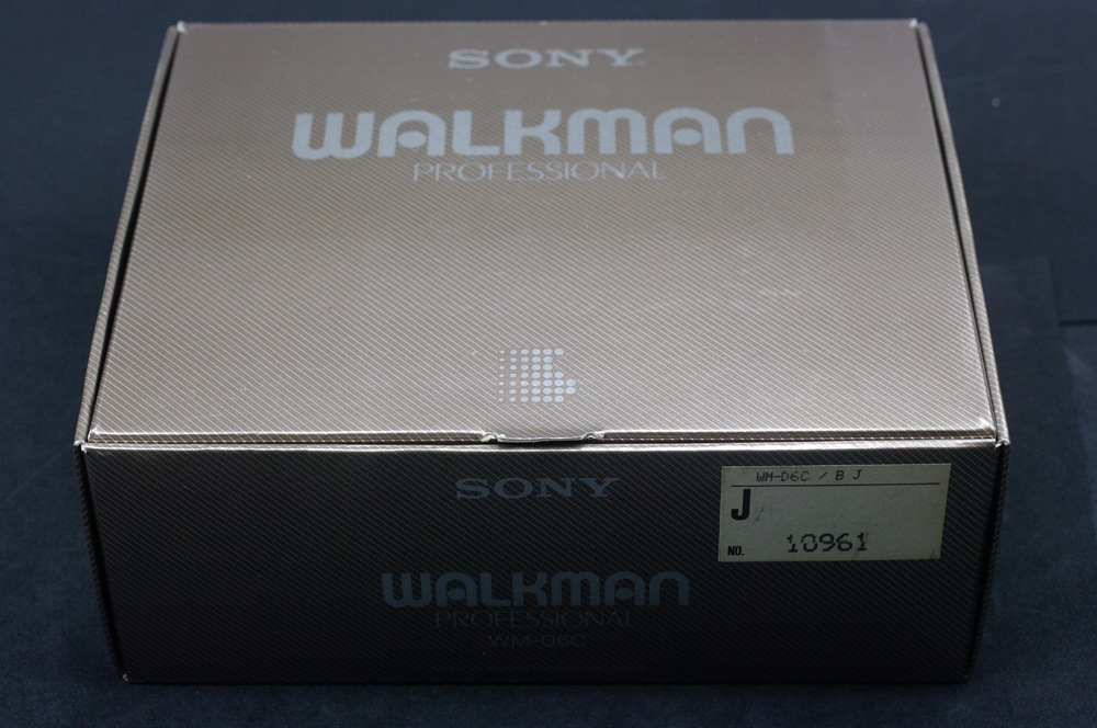 [Secondhand products]New Sony WM D6C cassette tape player Walkman recorder DD9 D6C DD DC2