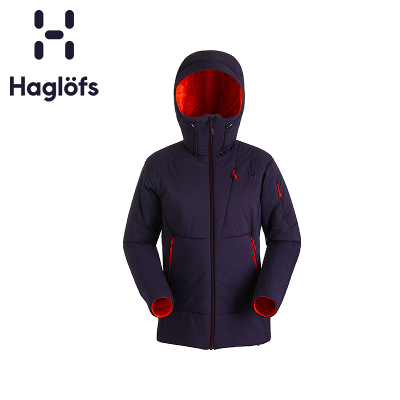 Haglofs Matchstick Woman's Outdoor Windbreak, Warm, Air-permeable, Comfortable and Durable Snowsuit 603445 Euro Edition