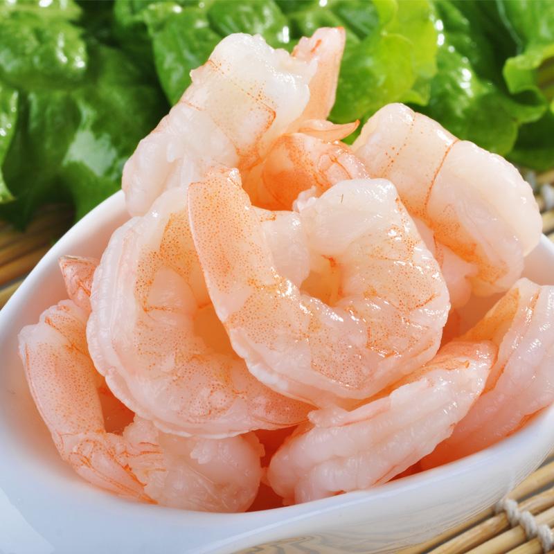 GUOLIAN 熟冻珍珠虾仁(大)300g/包  51/60冷冻虾仁