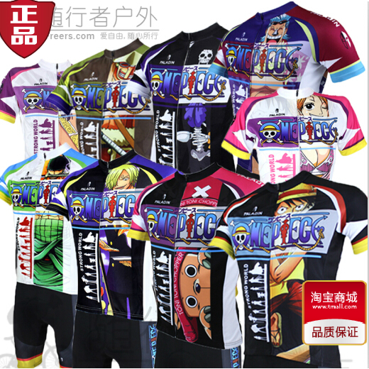 Animation Pirate King Road Fei Joba Summer Short-sleeved Men's and Women's Cycling Suit