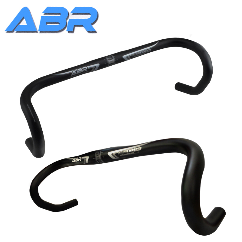 Taiwan ABR RALLY6 Highway Bicycle Aluminum Alloy Bend Handlebar 31.8*420 Horizontal Handlebar 31.8*440