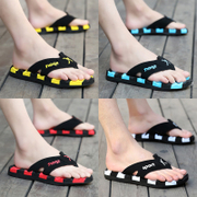 Summer sandals men personality beach shoes pinch massage slippers summer tide male antiskid slippers male code