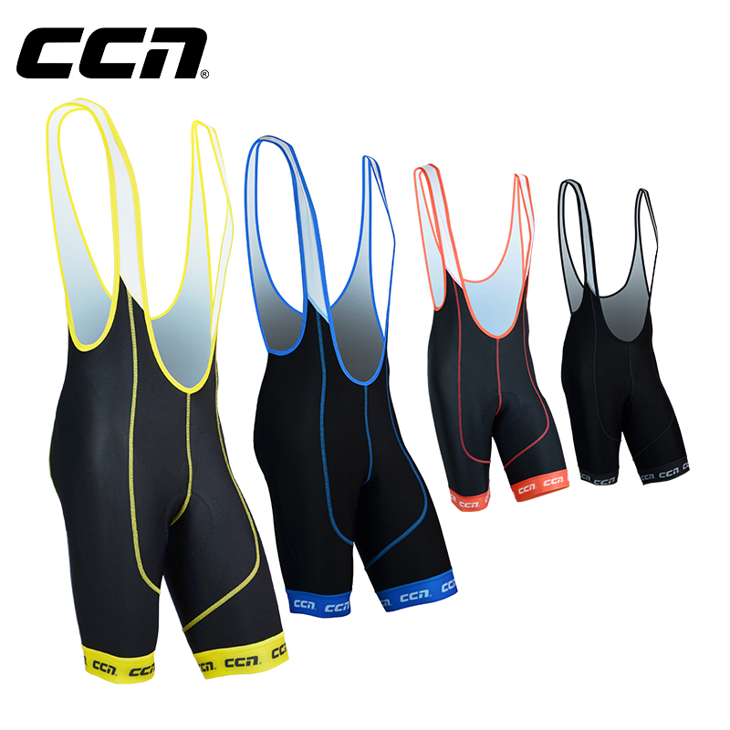 CCN spring and summer men's and women's suspender riding pants mountain road bicycle elastic cycling suit strap shorts ST005
