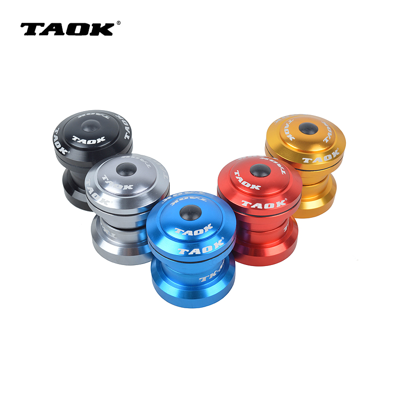 TAOK Mountain Road Dead Flying Bicycle 34mm External Toothless Peilin Bearing Head and Bowl Set Five Colors Optional