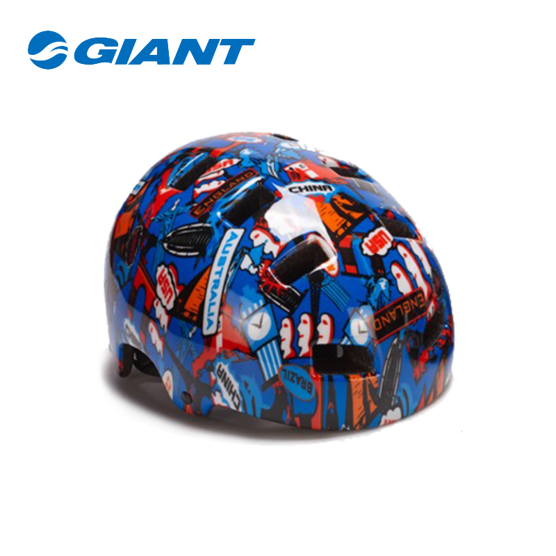 GIANT Giant G1450 Graffiti Edition One-piece Youth Sports Riding Helmet