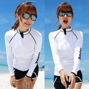 South Korea female diving suit split lovers'suits surf clothing clothing jellyfish snorkeling swimsuit sunscreen male long sleeved pants
