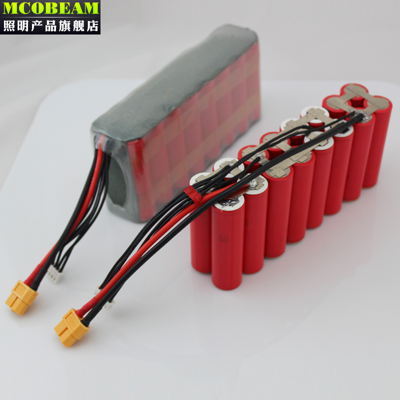 Professional custom-made 6S5P 4S4P mapping UAV model FPV 18650 Sanyo Sony lithium battery pack