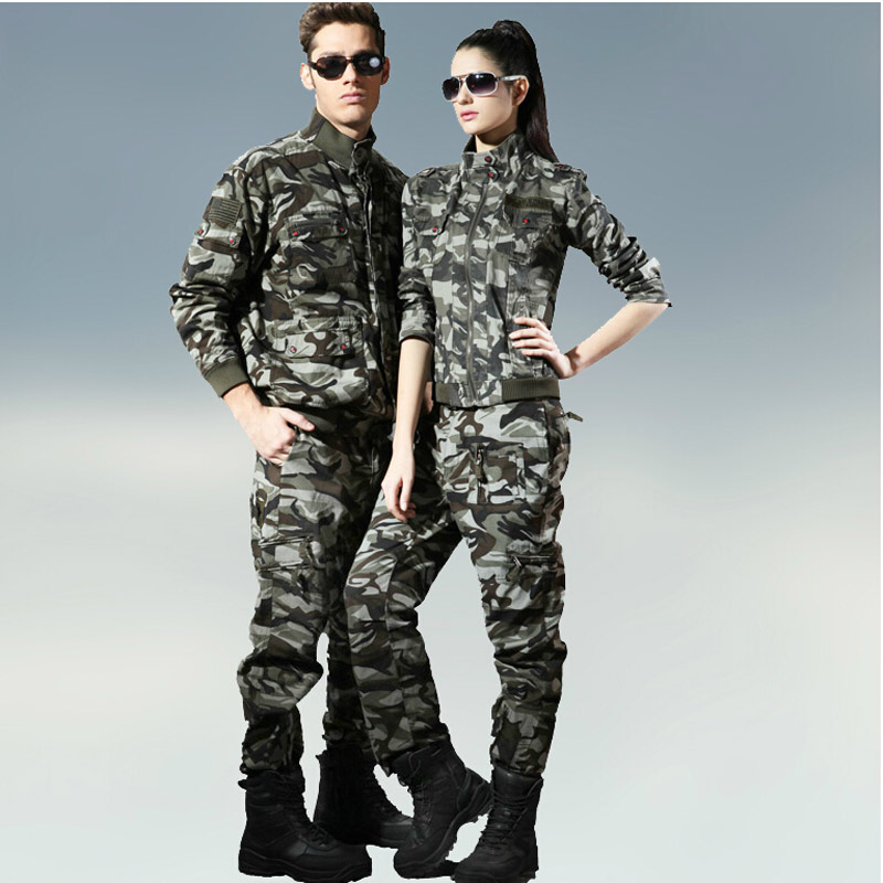 Free Knight Camouflage Army Outdoor Camping Casual Suit Camouflage Suit for Men
