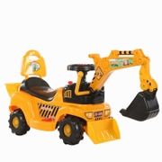 Electric excavators can ride, ride, children's rechargeable excavators, toy cars, large bulldozers, 2— 6 year old engineering car