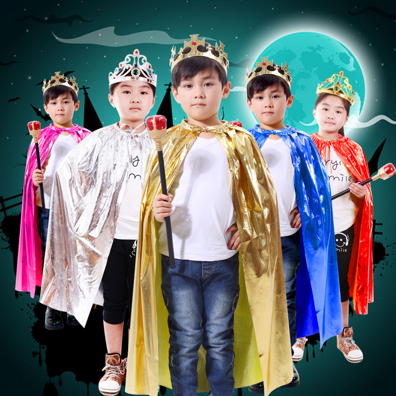 Cosplay Clothes,Halloween Clothes,Halloween Children's Wear Decoration Boy Cosplay Cape Cloak Prince Cloak Costume Cosplay