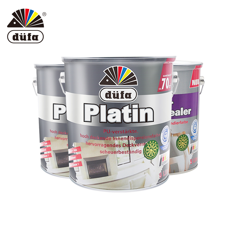 German Allfang diamond wall paint sets are painted latex paint paint water-based paint with imported primers
