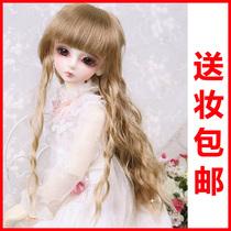 Ou Jingling 4 Luts bjd SD doll Bory sending joint doll face makeup doll
