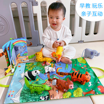 belepa three-dimensional cloth book early education 6-12 months baby 0-1-3 years old baby Children can bite and tear not rotten toys