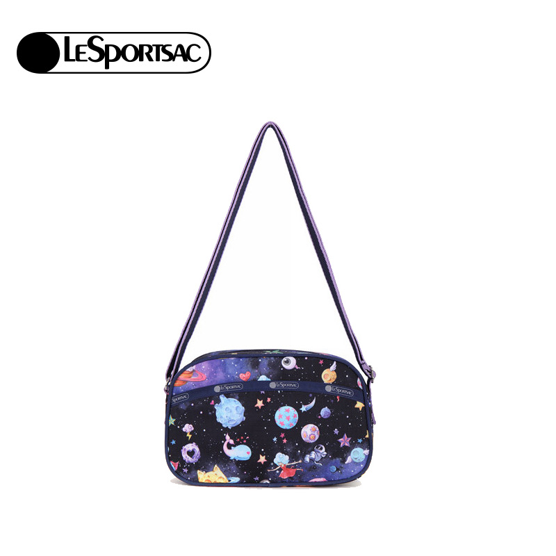 LeSportsac music poetry bag female 2018 new bag casual shoulder Messenger bag handbag 3255