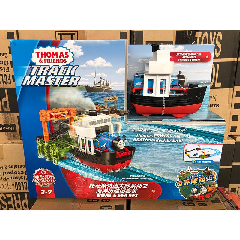 Thomas Little Train Electric Track Master Series Ocean Adventure Set FJK49 Boys Toys