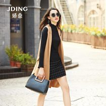 Jiao Ting slim sleeveless Korean fashion wool Western vest