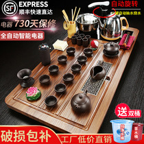 Kung Fu tea set set set home fully automatic all-in-one tea plate set of teapot simple office guests
