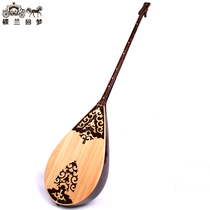 Xinjiang minority Kazakh musical instrument Samoa Samoa piano professional high-grade mahogany playing Class