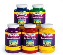 (Ease recalls) colorations® Pure colored paper slices finger pigment safe non-toxic washable