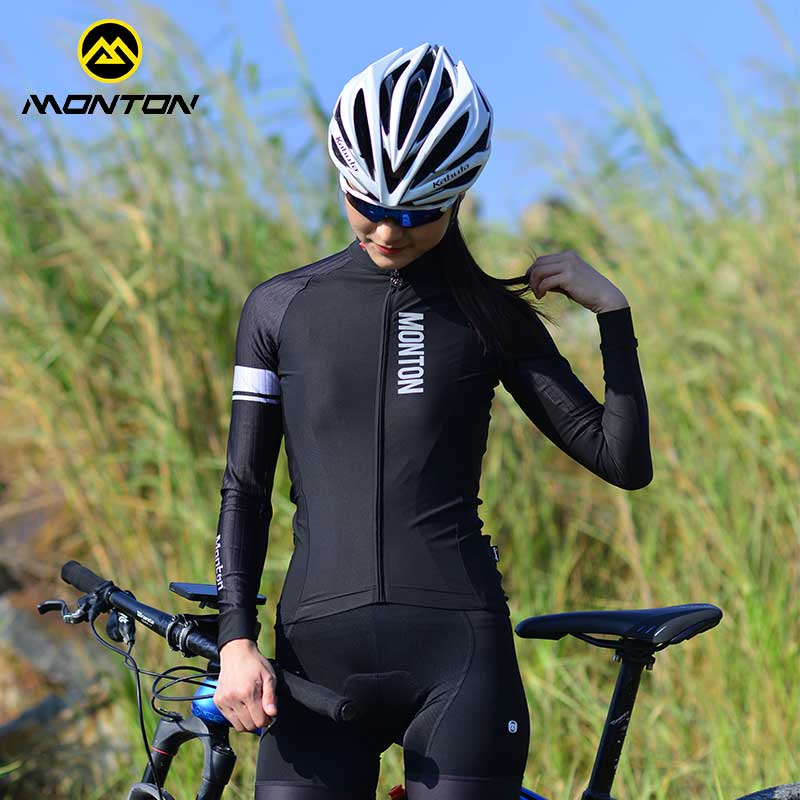 Monton Pulse Spring and Autumn Cycling Apparel Long Sleeve Topcoat Mountain Bicycle Apparel Leisure Cycling Equipment Pedestrian X