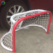The new mobile hockey gate ice hockey door can be stacked portable dryland ice hockey goal