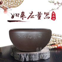 佛教如来应量器僧钵黑晶釉食器钵化斋碗僧人托钵化缘饭碗斋堂用品