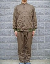 Field grey cotton pants new fine polypropylene heating material grey green cotton trousers 03 cotton pants