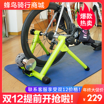 Bicycle indoor riding Table hydraulic resistance drum Highway mountain bike reluctance power intelligent mute training Desk
