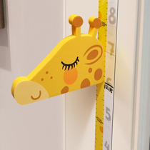 Childrens height wall sticker 3d three-dimensional home baby room tailor-made height sticker Removable cartoon measuring instrument ruler artifact