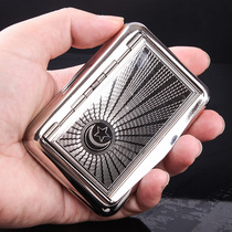 Stainless steel wire box portable moisturizing wire box seal personality metal box bucket accessories tool men