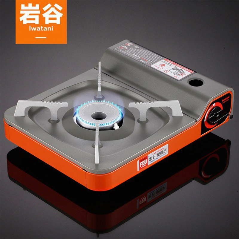 Iwatani outdoor portable cassette cooker hot pot card magnetic furnace CASS stove fire boiler gas stove gas stove cooker