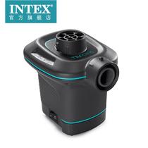 INTEX pompe électrique à double usage domestique électrique véhicule électrique pompe gonflable pompe de compression poche disponible