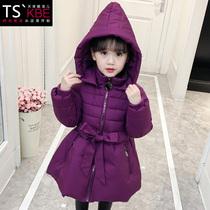 清仓女童儿童冬季公主韩版棉袄