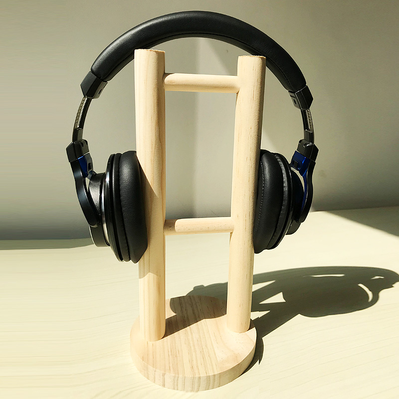 Wood / solid wood game earphone rack special wood earphone rack high-grade shelf headwear bracket