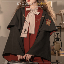 (Pepper KYOUKO) full pre-sale Warner authorized Harry Potter British JK uniform cloak 022