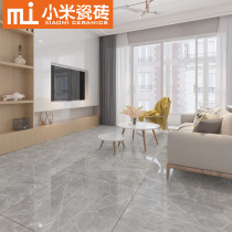 Grey block, marble tile, living room floor tile 800X800 new floor tile modern minimalist whole house set meal