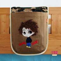 卡通收纳袋儿童卡通栏挂袋收纳袋男孩儿童床上帐篷半高床床围配件