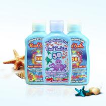 American Reef safe floating diving surf sunscreen 50+ conservation of coral formula adult children Reefsafe