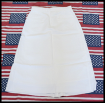 The new United States: the United States Navy Navy sailor suit white dress skirt (public hair original)