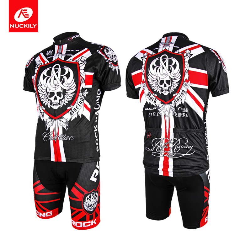 [daily special price] cycling suit men's suit mountain bike top short pants equipment summer clearance