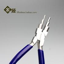 Les importations de perle des États-Unis de six trous de forme circulaire de la pince de serrage de fil de cuivre de bricolage de pince de serrage manuel 6