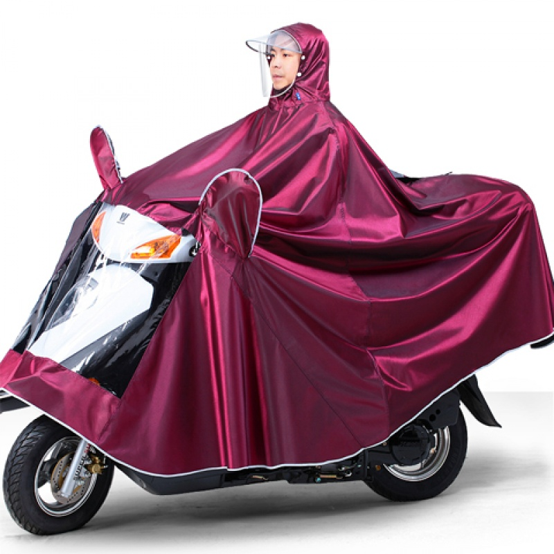 The raincoat of 4-5xl motorcycle electric vehicle sold directly by the manufacturer has been widened and enlarged