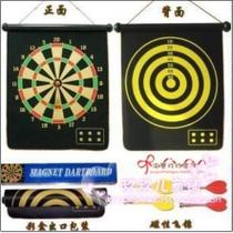 17 inch double-sided professional magnetic darts disk soft target 4 entertainment home decoration Promotion