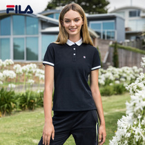 Fila Female Short Sleeve polo 2018 official authentic breathable business casual short sleeve polo woman